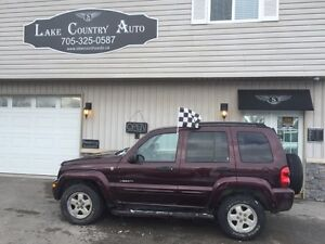 2004 Jeep Liberty Limited-4x4, Leather, Sunroof
