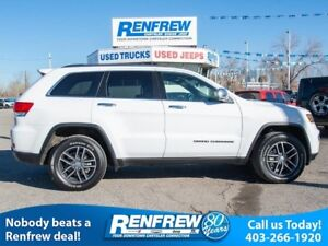 2018 Jeep Grand Cherokee Limited 4x4, Sunroof, Remote Start, Hea