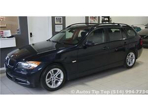 2008 BMW 328 XI WAGON***4X4 AWD-CUIR-MAGS TOIT PANORAMIQUE**DEAL