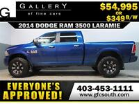 2014 RAM 3500 DIESEL LIFTED *EVERYONE APPROVED* $0 DOWN $349/BW!