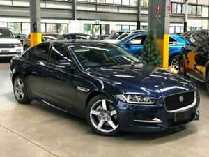 2016 Jaguar XE X760 25t R-Sport Sedan 4dr Spts Auto 8sp 2.0T [MY17] Blue Sports Automatic Sedan Port Melbourne Port Phillip Preview
