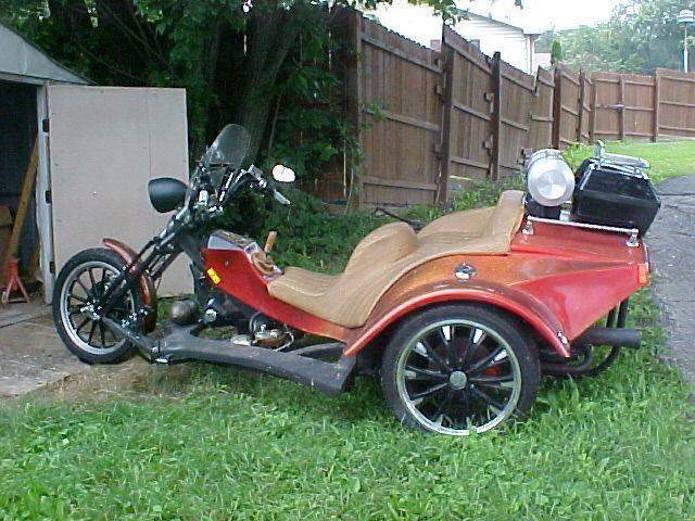 1973 Custom Built Motorcycles Trike  1973 VW Trike