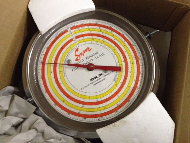 Sepor Direct Reading Pulp Density Scale 2627-S (NEW)