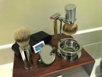 Traditional Mens Safety Razor & Accessories