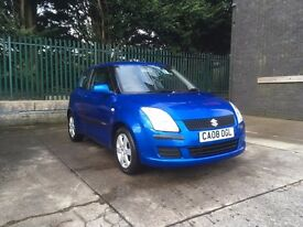 SUZUKI SWIFT 1.3 2008 61K MILES NEW VALEO CLUTCH+SERVICE