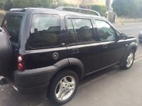 Land rover freelander td4 good mileage for age, just had £1000 spent on it