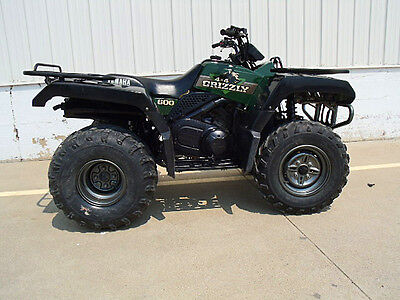 Yamaha grizzly 600 4x4 atv automatic hi low range for Yamaha grizzly 600