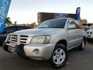 2006 Toyota Kluger MCU28R Upgrade CV (4x4) Silver 5 Speed Automatic Wagon Mount Hawthorn Vincent Area Preview