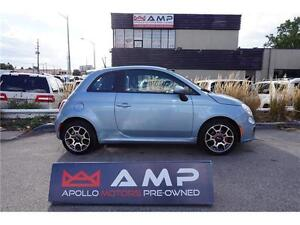 2014 FIAT 500 Sport Automatic Alloys Air 100% Credit Approved!