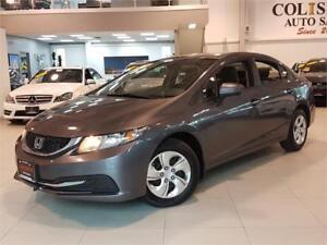 2015 Honda Civic Sedan LX-AUTO-REAR CAM-BLUETOOTH-ONLY 65KM