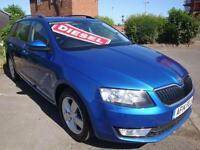 14 SKODA OCTAVIA SE TDI CR 5 DOOR DIESEL ESTATE £20 A YEAR ROAD TAX