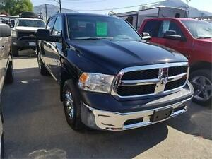 2013 Ram 1500 ST CREW CAB - BLACK BEAUTY -SMALL MONTHLY PAYMENT