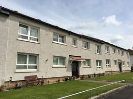 Freshly decorated one bedroom flat to rent within close proximity to Scotstounhill train station.