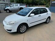 2005 Toyota Corolla ZZE122R Ascent Seca White 5 Speed Manual Hatchback Islington Newcastle Area Preview