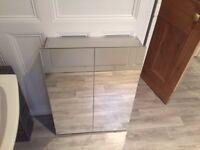 High quality KEUCO mirrored glass bathroom cabinet