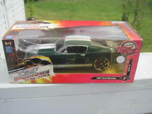 Fast and Furious Mustang Diecast Toy 1967 Official Movie Car