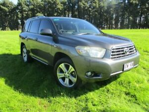 2008 Toyota Kluger GSU40R KX-S 2WD Grey 5 Speed Sports Automatic Wagon Gepps Cross Port Adelaide Area Preview