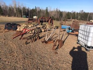 Old Cultivators and Ploughs
