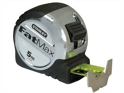 Stanley STA033887 FatMax Tape Measure 5m Metric Only 0-33-887 New