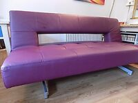 Pisa sofa by Dwell three seater converts to bed