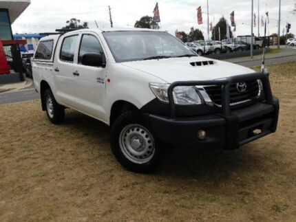 2015 Toyota Hilux KUN26R MY14 SR (4x4) White 5 Speed Automatic Dual Cab Pick-up Belconnen Belconnen Area Preview