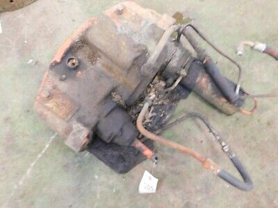 Allis-chalmers D19 Tractor Steering Motor W Power Steering Pump Tag 005
