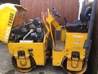 TEREX TV800 roller.