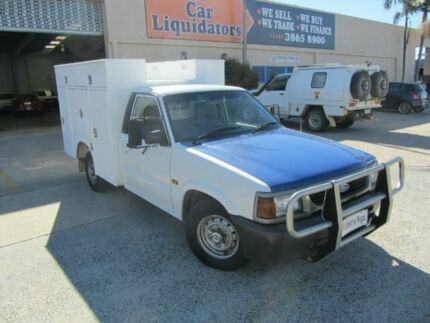 1998 Ford Courier PD XL White Manual Cab Chassis Virginia Brisbane North East Preview