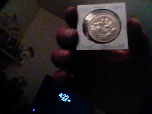 Canadian1970 one $ coin