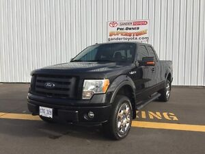 2010 Ford F-150 FX4 4WD Supercab 145""