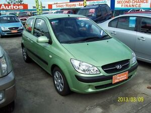 2011 Hyundai Getz TB MY09 S Green 5 Speed Manual Hatchback Capalaba West Brisbane South East Preview