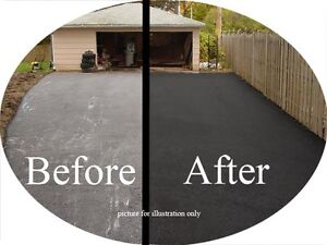 Driveway Sealing -Special FREE Minor Crack Repair With Seal Cambridge Kitchener Area image 1