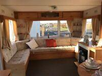 Quality 6 Berth Starter Caravan At Sandylands Near Wemyss Bay With fees Inc Till 2019