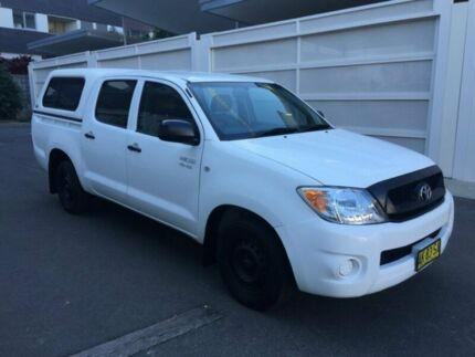 2006 Toyota Hilux (2WD) GGN15R White Automatic Dual Cab Zetland Inner Sydney Preview