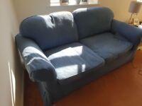 Free blue sofa