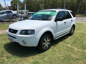 2008 Ford Territory SY SR (RWD) White 4 Speed Auto Seq Sportshift Wagon Clontarf Redcliffe Area Preview