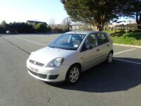 FORD FIESTA STYLE (CLIMATE) 1.25 2008 SILVER HAVERFORDWEST