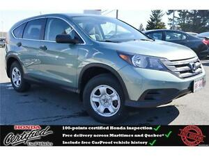 2013 Honda CR-V LX AWD, Backup Camera, Bluetooth, One Owner !!