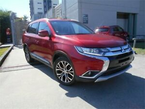 2015 Mitsubishi Outlander ZK MY16 LS 2WD Maroon 6 Speed Constant Variable Wagon Southport Gold Coast City Preview