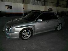 2002 Subaru Impreza S MY02 WRX STi AWD Silver 6 Speed Manual Sedan Molendinar Gold Coast City Preview