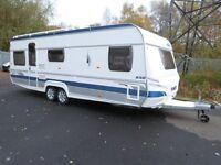 fendt 650 2008/9 5 berth caravan