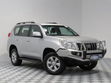 2009 Toyota Landcruiser Prado KDJ150R GXL (4x4) Silver 5 Speed Sequential Auto Wagon Atwell Cockburn Area Preview