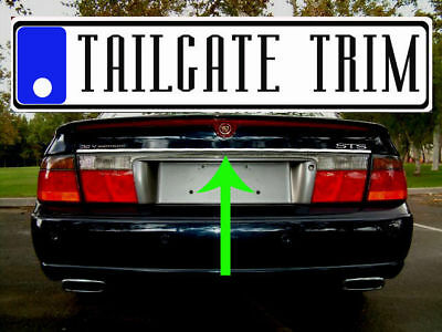 Cadillac SEVILLE STS 1998 - 2004 Chrome Tailgate Trunk Trim Molding