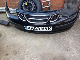 Saab 9-3 2003 2.2TID parts from car that has been broken, please read..