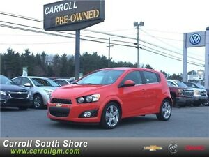 2016 Chevrolet Sonic LT Turbo Sunroof