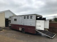 Leyland Daf 45/130 Horsebox, 1997, lorry with a recorded mileage of 258000 km from new