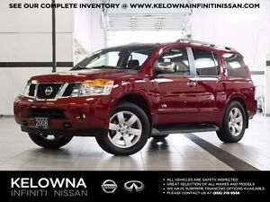 2008 Nissan Armada LE w/Navigation and Rear Seat DVD