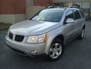 2007 PONTIAC TORRENT  SPORT 130000 KMS AUTO FWD ''TAX  INCLUDED