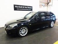 2008 08 BMW 5 SERIES 3.0 530D M SPORT TOURING 5D 232 BHP DIESEL