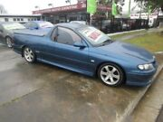 2002 Holden Commodore Vuii SS Blue 6 Speed Manual Utility New Lambton Newcastle Area Preview